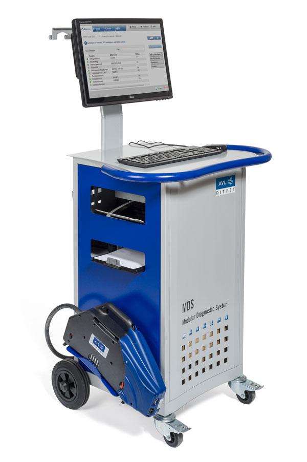Abgastester MDS 450 von AVL DiTEST unterstützt AU Plus